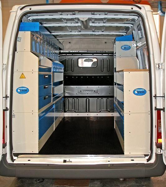 Van Lining And Racking Swiss Vans