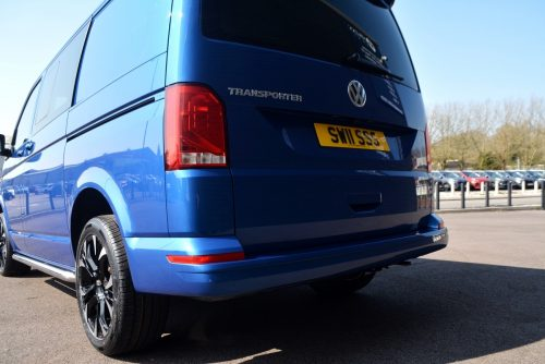 vw transporter back