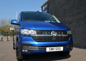 vw transporter wasp front