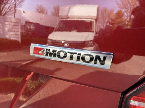 VW Transporter 4motion badge