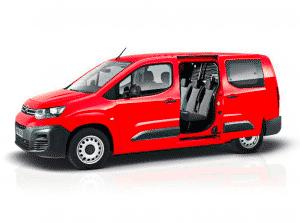 New Citroen Berlingo Crew Van