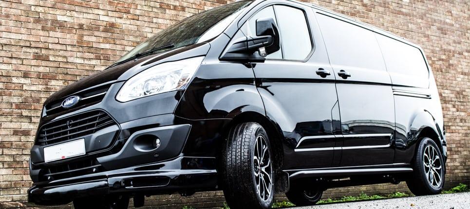 ford transit custom wasp swiss vans. Black Bedroom Furniture Sets. Home Design Ideas