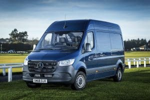 Mercedes-Benz Sprinter Blue