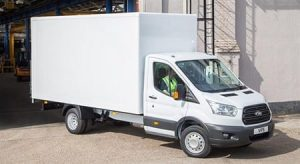 New Ford Transit Luton