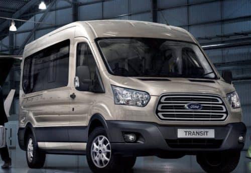 Ford Transit Minibus Lease