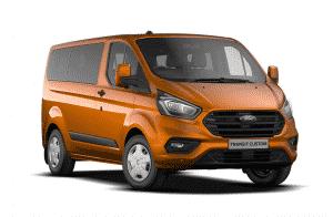Ford Transit Custom Kombi For Sale & Lease Burnt Orange Swiss Vans