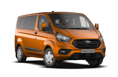 Ford Transit Custom Kombi For Sale & Lease Burnt Orange Swiss Vans