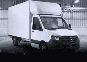 New Mercedes Luton Van