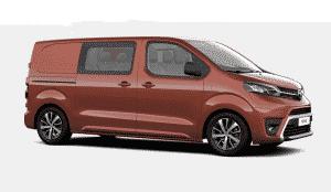 New Toyota Proace Crew Cab Combi