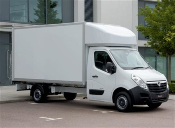 New Vauxhall Movano Luton Vans
