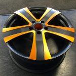 VW Transporter alloy wheels Supermetal Bullet Anodised
