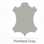 Portland grey leather