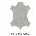 Portland grey leather