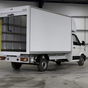 New Crafter Luton Rear