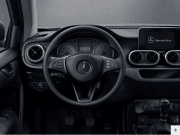 X Class steering wheel