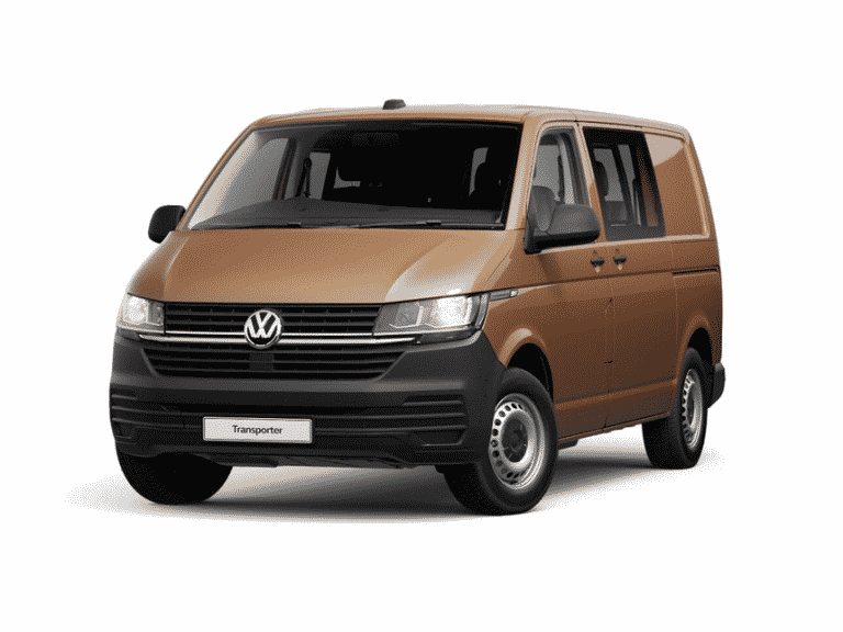New electric VW Transporter van for sale lease