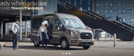 Ford Transit 17 Seat Minibus Stock