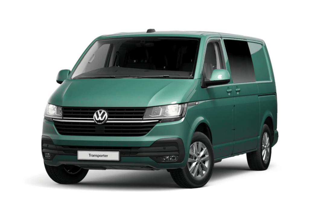 New Shape VW Transporter Ravenna Blue