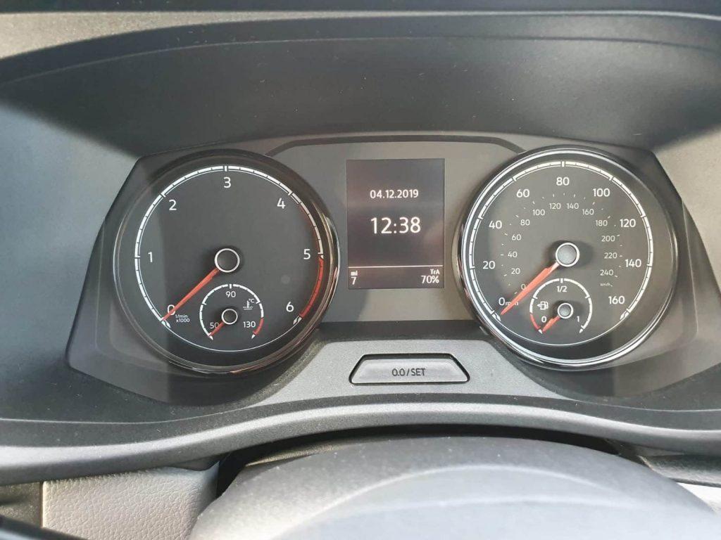 VW T6 Speedo