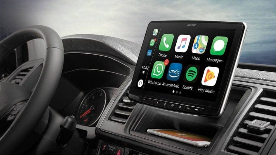 Mercedes Vito Sport Alpine Stereo