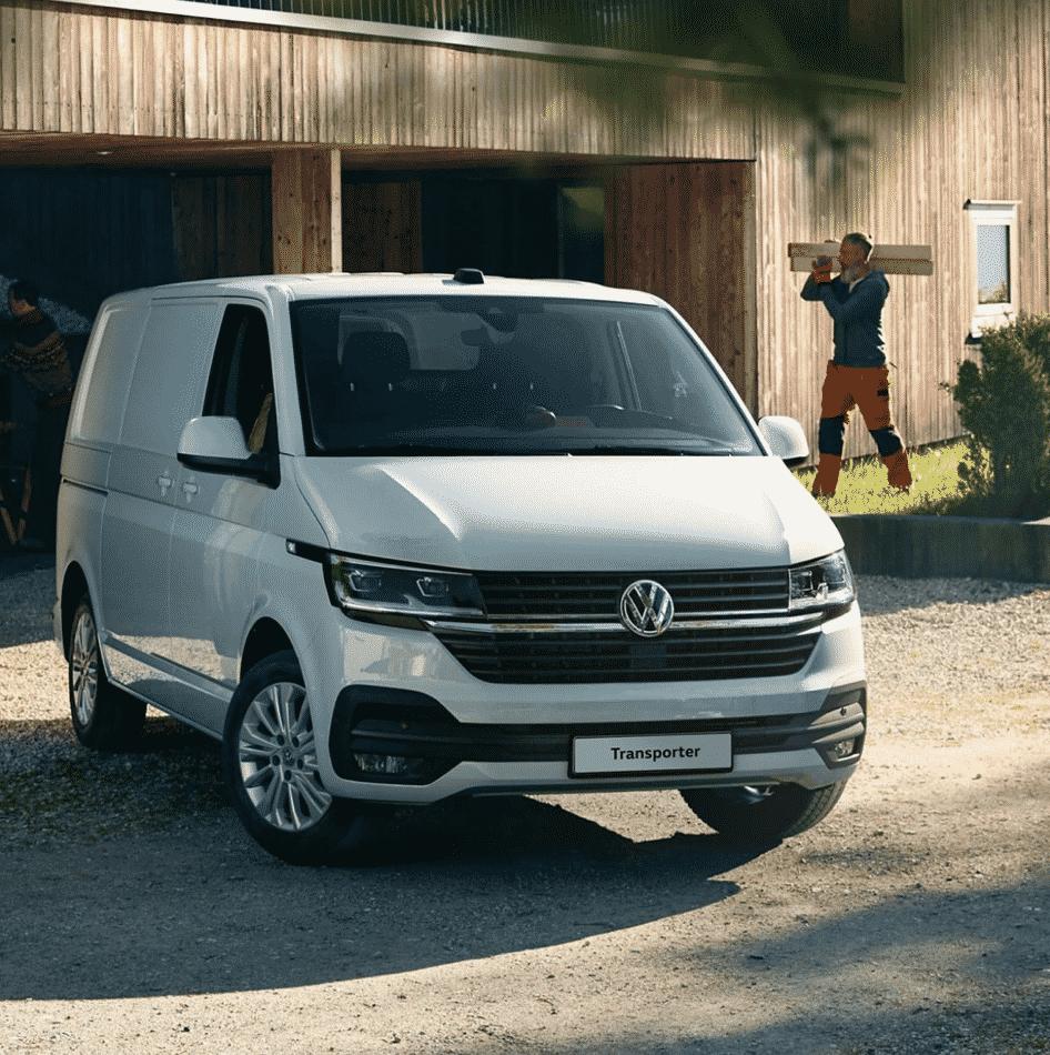 VW Transporter Caravelle Lease