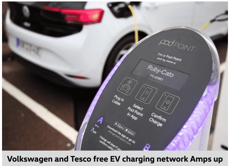 VW Van Electric CHargers