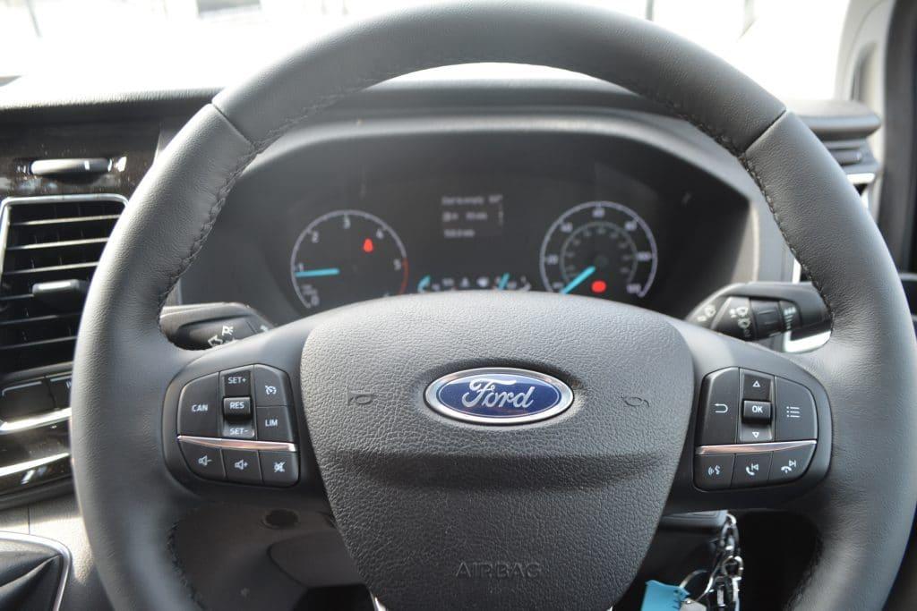 Ford Transit Custom Sport WASP Steering wheel