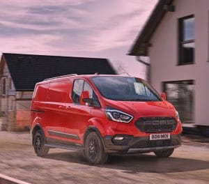 New Ford Transit Custom Swamper Trail Version