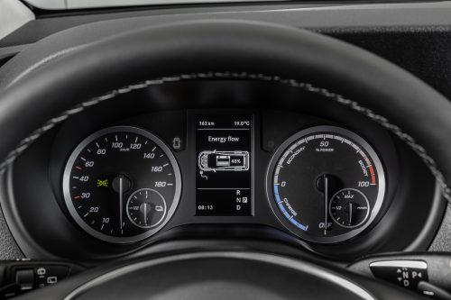 Mercedes-Benz eVito dashbord