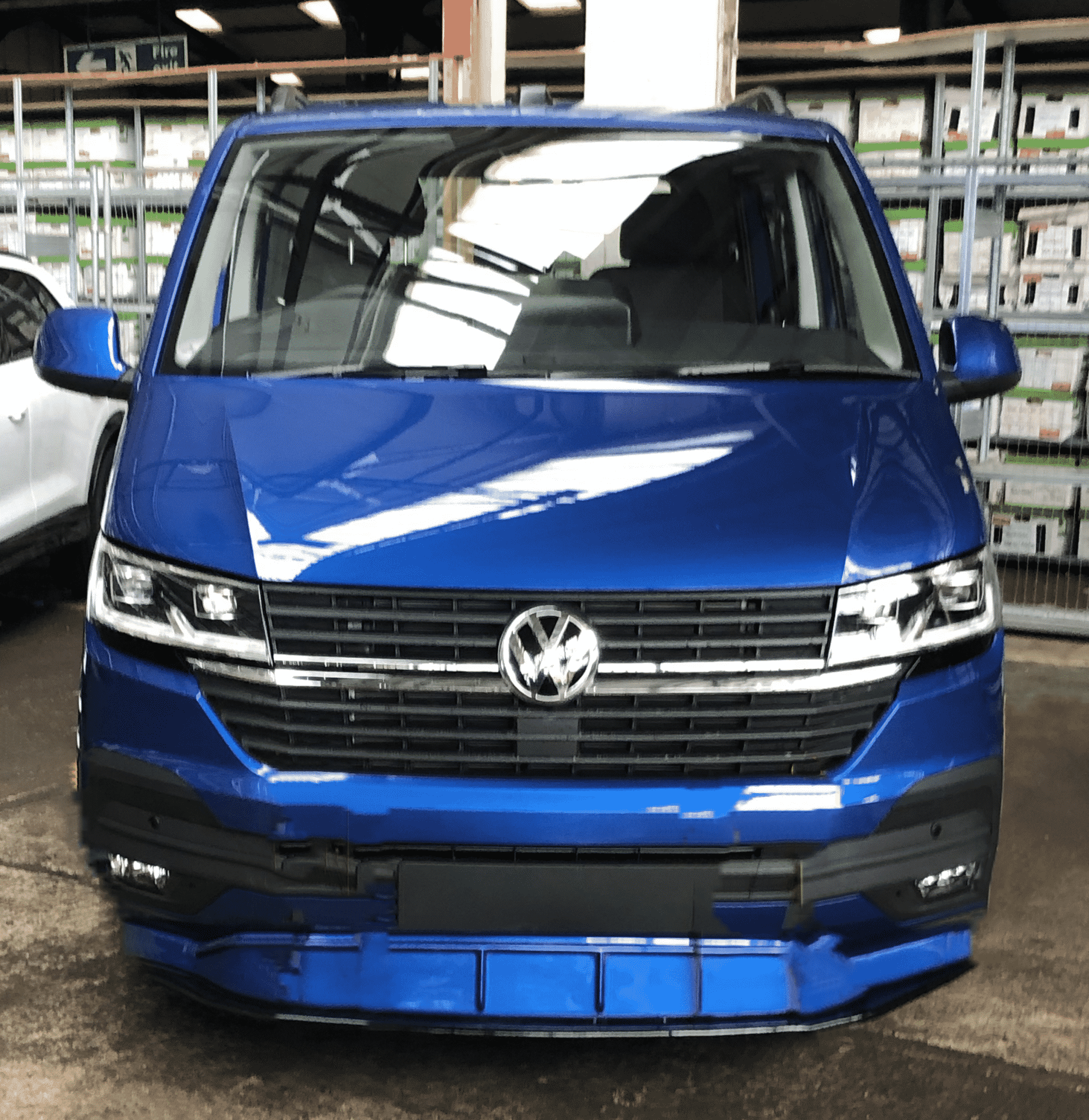 VW Transporter Sportline WASP Blue Swiss Vans 2020