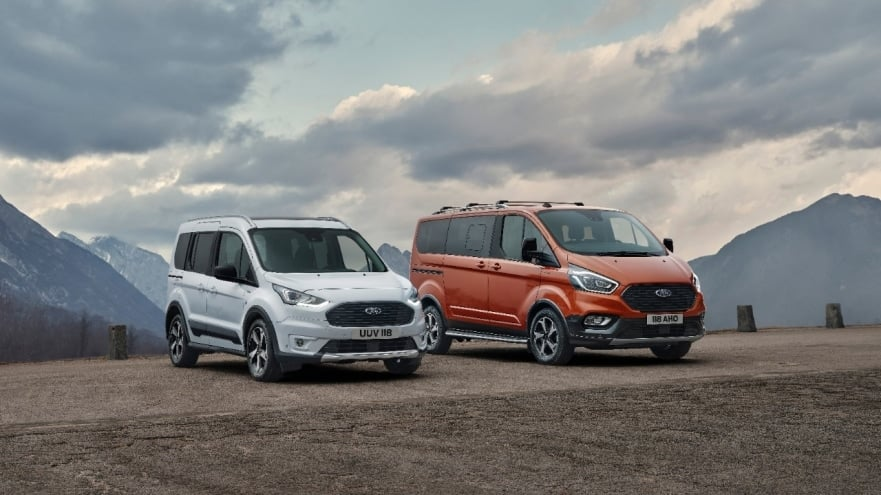 Keep your expectations high for Ford Tourneo and Transit Connect Active