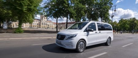 Sales have started for eco friendly supercar Mercedes Benz eVito Tourer
