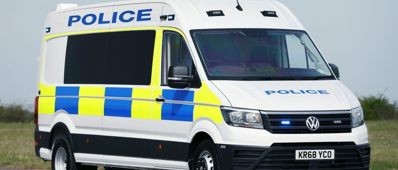 Police Riot Van | VW Crafter