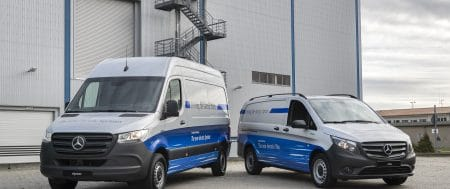 Mercedes-Benz eSprinter and eVito will have new ServiceCare and Maintenance