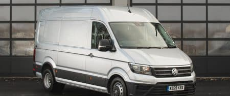 "The Award For ""Large Van of the Year"" Has Been Secured By Volkswagen Crafter For The Second Time In A Row"