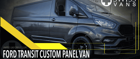 Ford Transit Custom ready for delivery!
