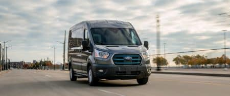 The Ford E-Transit – Electric Best-selling Cargo Van