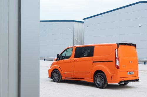 Ford Transit Custom MS-RT Orange