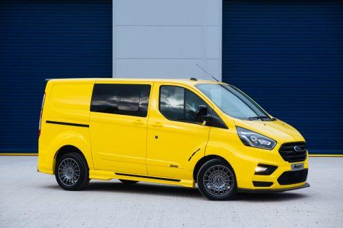 Ford Transit Custom MS-RT Yellow