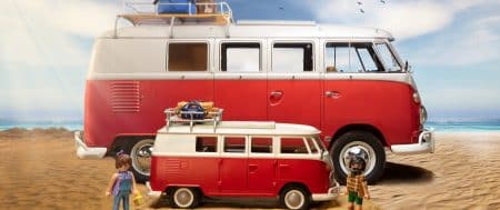 FOR THE FIRST TIME EVER: VW BULLI AVAILABLE IN PLAYMOBIL FORMAT